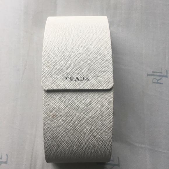 Prada Other - White Prada eyeglass case